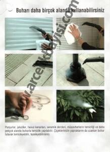 Arçelik buharika ile kimyasal madde kullanmadan hijyenik temizlik